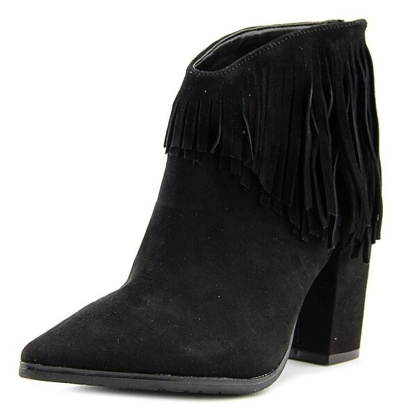 Kenneth Cole Reaction Pull Ashore Women Black Boots