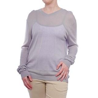 Quinn Long Sleeve V-Neck Sweater Women Regular Sweater