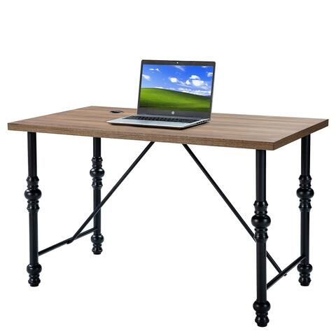 Josef Office Desk with Thick Tabletop
