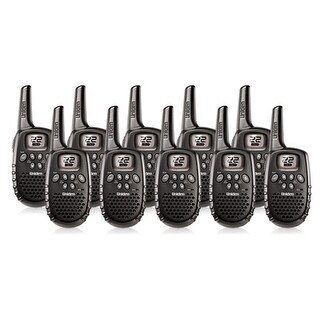 Uniden GMR1635-2 (10-Pack) Two Way Radios w/ Roger Beep & Keypad Lock