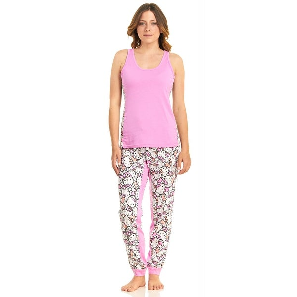 Hello Kitty Meow Mix Tank Top And Pajama Pant Set