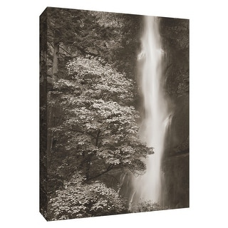 """PTM Images 9-154314  PTM Canvas Collection 10"""" x 8"""" - """"Multnomah Falls"""" Giclee Waterfalls Art Print on Canvas"""