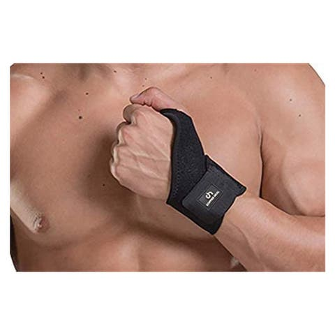 COPPER HEAL Adjustable WRIST Support Brace - Suitable for Both Hands Strap Short Sleeves Wraps Medical Recovery Pain Relief