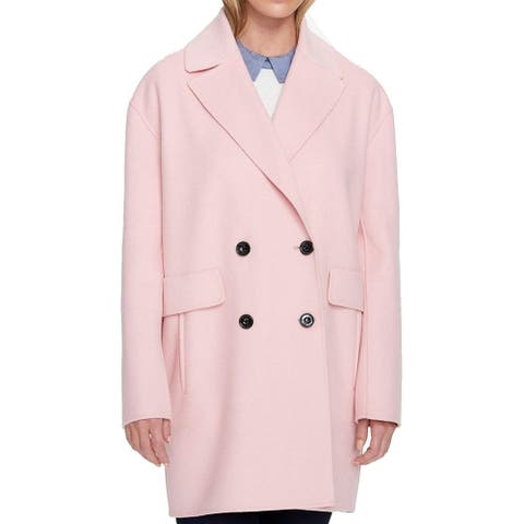 Tommy Hilfiger Women's Peacoat Casual, Pink, XL
