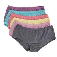 Fruit of the Loom Women's Boy Short Underwear (6 Pair Pack)