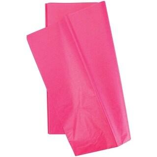 "Tissue Wrap 20""X20"" 10/Pkg-Bombay Pink"