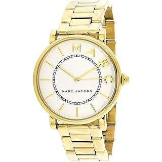 Marc Jacobs Women's Roxy MJ3522 Gold Stainless-Steel Quartz Fashion Watch