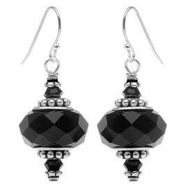 Talia Earrings (black) - Exclusive Beadaholique Jewelry Kit