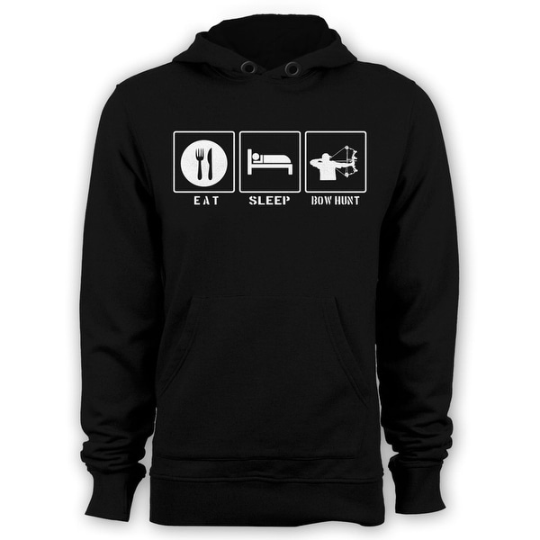 Eat Sleep Bow Hunt Hood Bow And Arrow Hunting Hoody