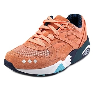 Puma x Alife R698 Women Round Toe Suede Pink Sneakers
