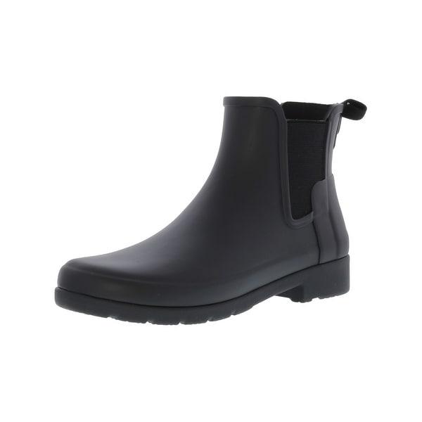 0a37382cec9f ... Women s Shoes     Women s Boots. Hunter Women  x27 s Original Refined  Chelsea High-Top Rubber ...
