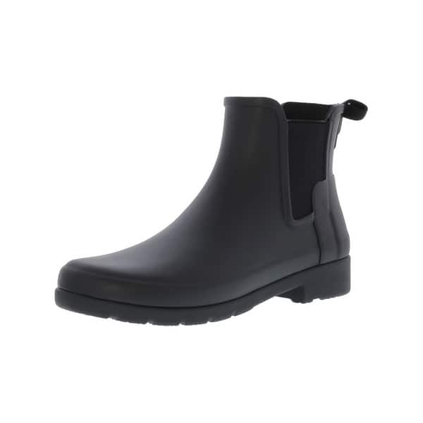 Shop Hunter Women S Original Refined Chelsea High Top Rubber Rain Boot On Sale Overstock 25444389