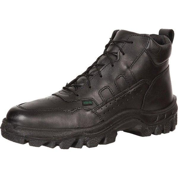 Rocky Work Boots Mens TMC Postal Sport Light Chukka Black