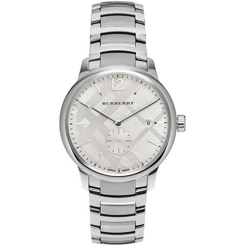 Burberry Stainless Steel Classic watch - N/A