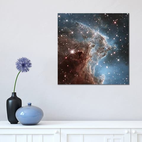 "iCanvas ""NGC 2174 (Monkey Head Nebula) (Hubble Space Telescope 24th Anniversary Image)"" by NASA Canvas Print"