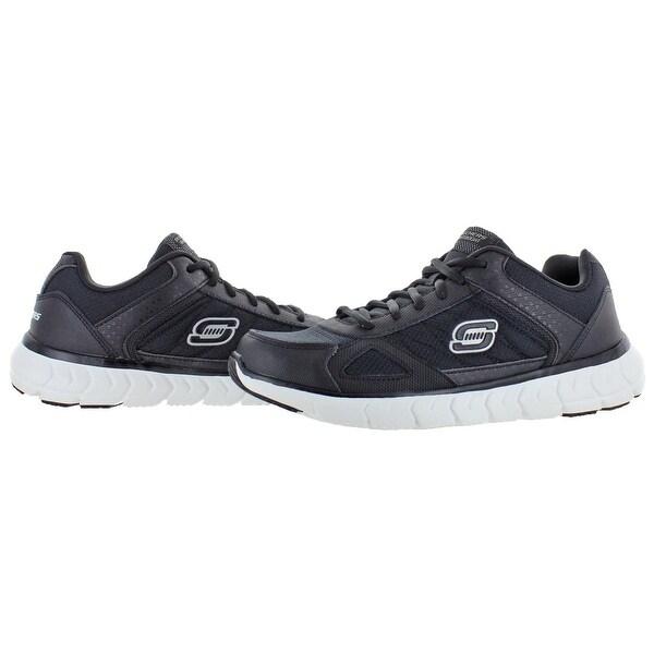 Shop Skechers Mens Soleus Distort C Running Shoes Leather
