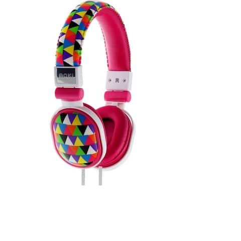 Moki Popper Headphone Triangle Pattern