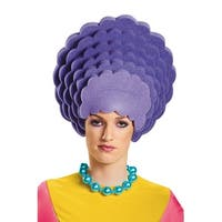 Disguise Patty Foam Wig - Purple