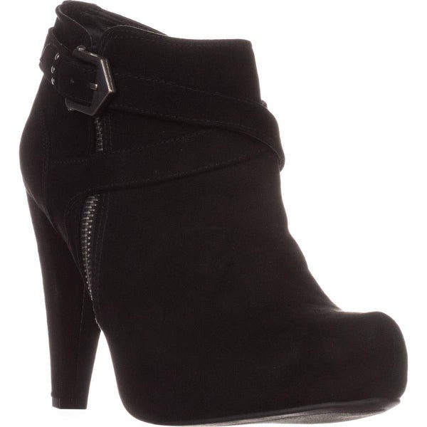 G by Guess Taylin2 Closed Toe Ankle Fashion Boots, Black