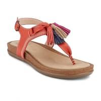 G.H. Bass & Co. Womens Sadie Leather Sunjuns Sandal Shoe