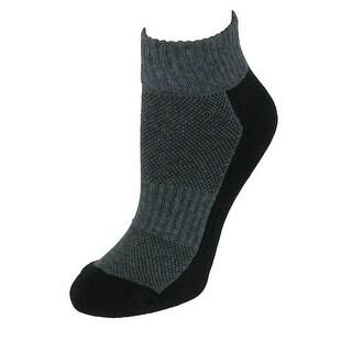 CTM® Women's Athletic Ankle Socks (3 Pair Pack)