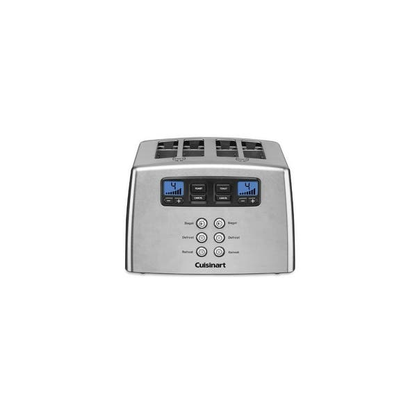 Shop Cuisinart Cpt 440 Touch To Toast Leverless 4 Slice Toaster Overstock 15158691