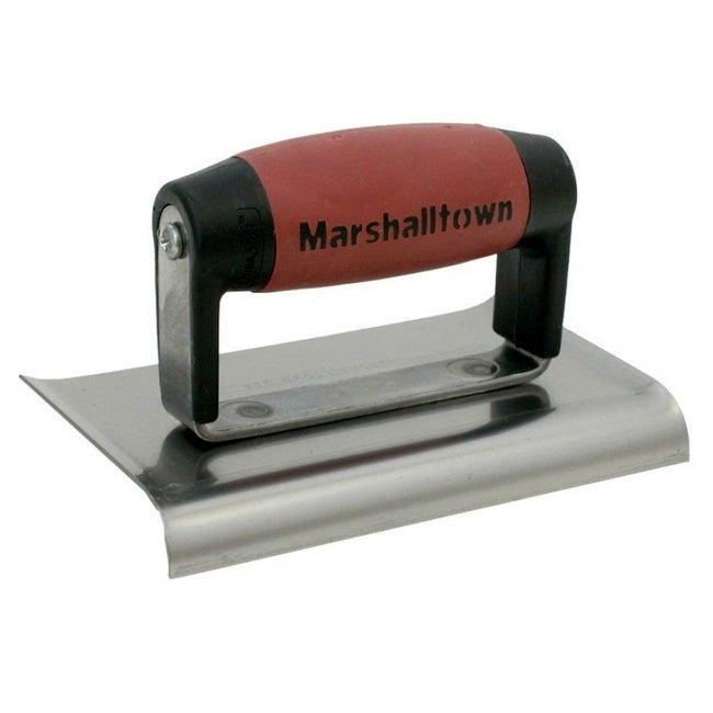 Marshalltown 138D Radius Edger-Curved Ends 6x4, Lip-DuraSoft Handle