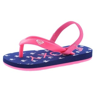 Roxy Printed Textured Sandals - 8
