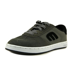 Etnies Kids Lo Cut Youth  Round Toe Synthetic Gray Sneakers