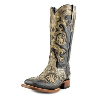 Lucchese Fiona C Square Toe Leather Western Boot