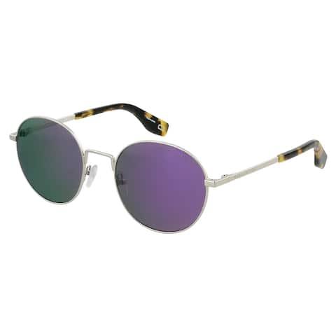 Marc Jacobs MARC 272/S B3V Silver Voilet Round Sunglasses - 53-20-140