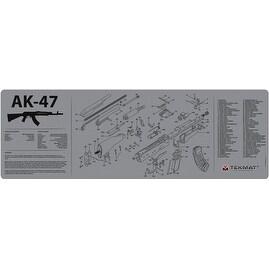 Tekmat 36ak47gy tekmat armorers bench mat 12x36 ak-47 grey