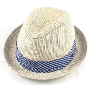 c405361678841 Quick View.  340.00. Gucci White Straw Medium Fedora Hat with Ribbon ...