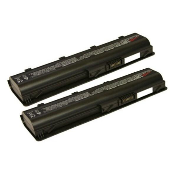 Replacement 4400mAh HP 586006-361 Battery For HSTNN-Q62C / MU06 / NBP6A174B1 Laptop Models (2 Pack)