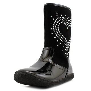 Nina Daysy Round Toe Synthetic Boot
