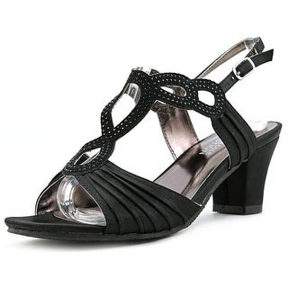 Kenneth Cole Reaction Face Off Youth Open Toe Synthetic Black Sandals
