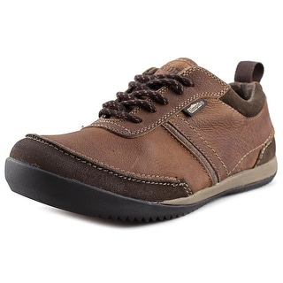 Simple Ascent Men Moc Toe Leather Oxford