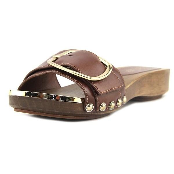 Rachel Zoe Daisi Women Open Toe Leather Brown Sandals