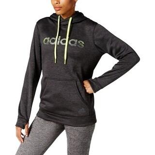 Adidas Womens Hoodie Heathered Logo
