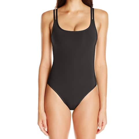 Jets by Jessika Allen Black Women's Size 8 One-Piece Swimwear