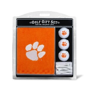 Clemson University Embroidered Towel Gift Set