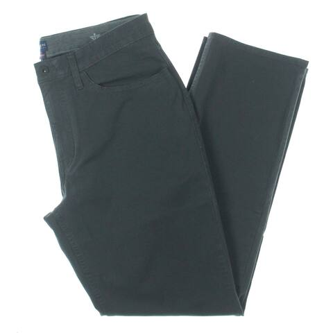 Dockers Mens 360 Straight Leg Jeans Comfort Waist Mid-Rise - Gray