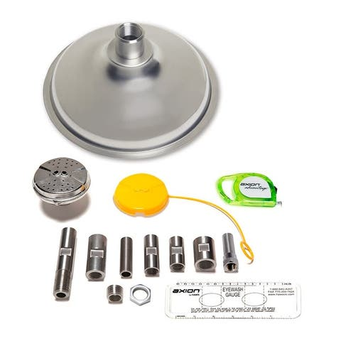 Haws AX14S Axion Advantage Stainless Steel Eye and Face Wash and Shower Upgrade Kit