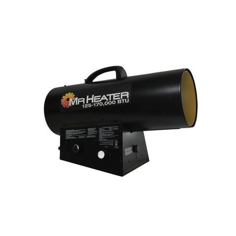 Mr. Heater F271400 Liquid Propane Forced Air Heater, 170000 BTU (MH170QFAVT)