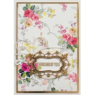 Spellbinders Shapeabilities Dies-Floral Tags