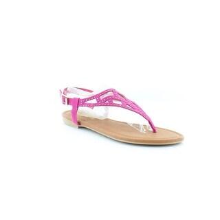 Rampage Pattie Women's Sandals & Flip Flops Fuchsia
