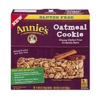 Annie's Homegrown - Gluten Free Oatmeal Cookies  Granola Bars ( 12 - 4.9 oz boxes)