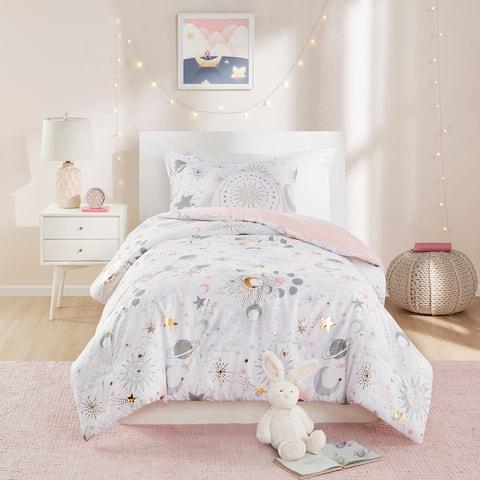 Ariella Starry Sky Metallic Printed Comforter Set by Mi Zone Kids