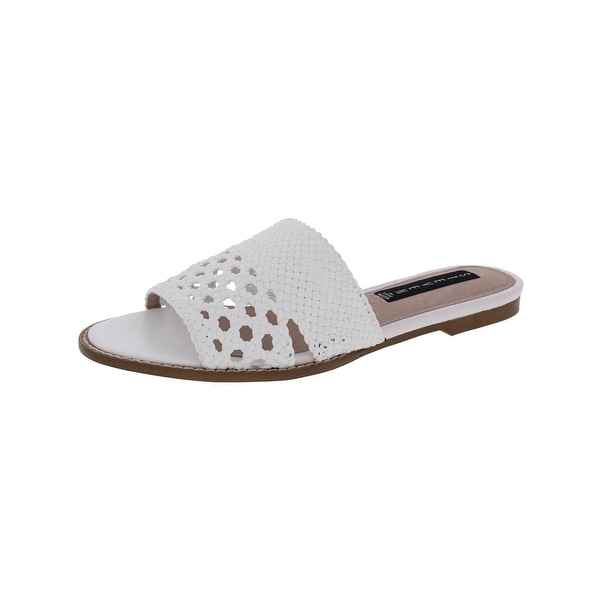 Steven By Steve Madden Womens Whitnie Slide Sandals Open Toe Casual