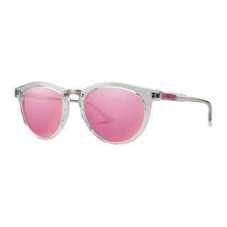 Smith Optics Sunglasses Womens Questa Archive Crystal Pink Mirror QEPC - crystal carbonic pink mirror - One size